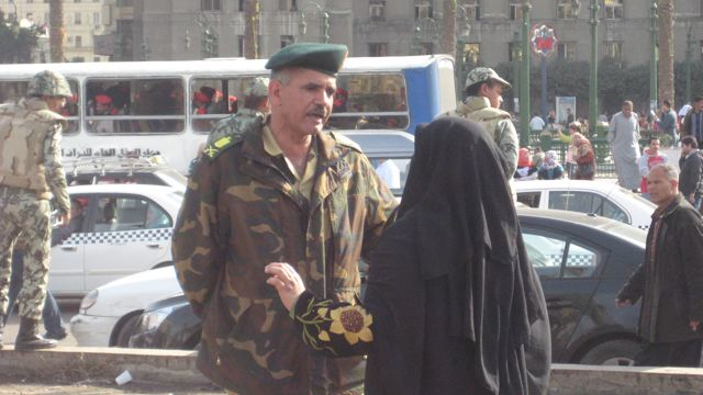 Woman with soldier, Cairo, February 22.jpg