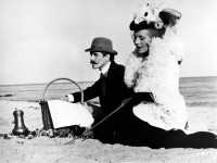 Ulli Lommel as Major Crampas and Hanna Schygulla as Effi Briest in Rainer Werner Fassbinder's 1974 film Effi Briest