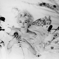 Marilyn Monroe in her favorite photograph of herself, taken by Cecil Beaton at the Ambassador Hotel, New York City, 1956