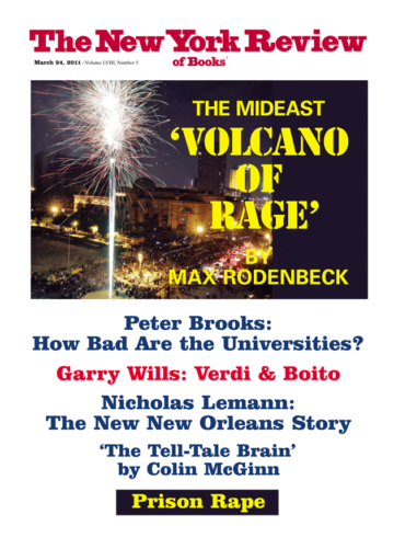 Image of the March 24, 2011 issue cover.