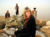Former NPR correspondent Anne Garrels in Afghanistan, 2003