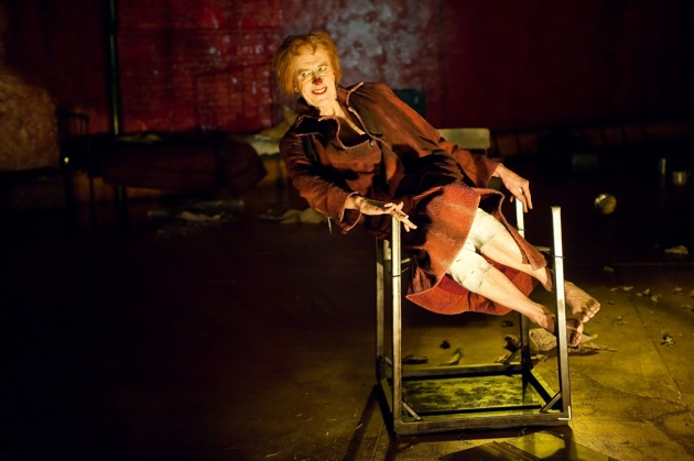 Geoffrey Rush in BAM's production of The Diary of a Madman