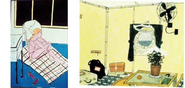 Elizabeth Bishop: Cabin With Porthole.jpg