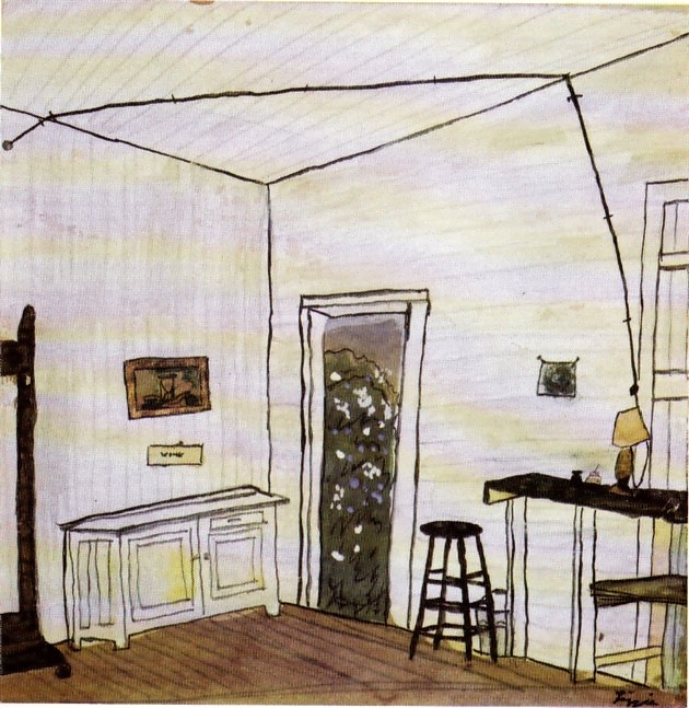 Elizabeth Bishop: Interior With Extension Cord.jpg