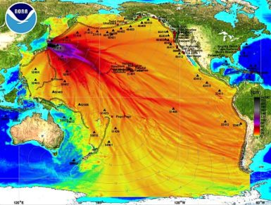 Energy propagation pattern of the March 11, 2011 tsunami
