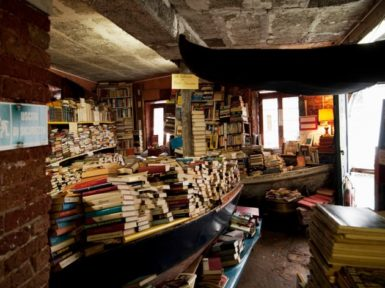 A bookshop in Venice, 2010