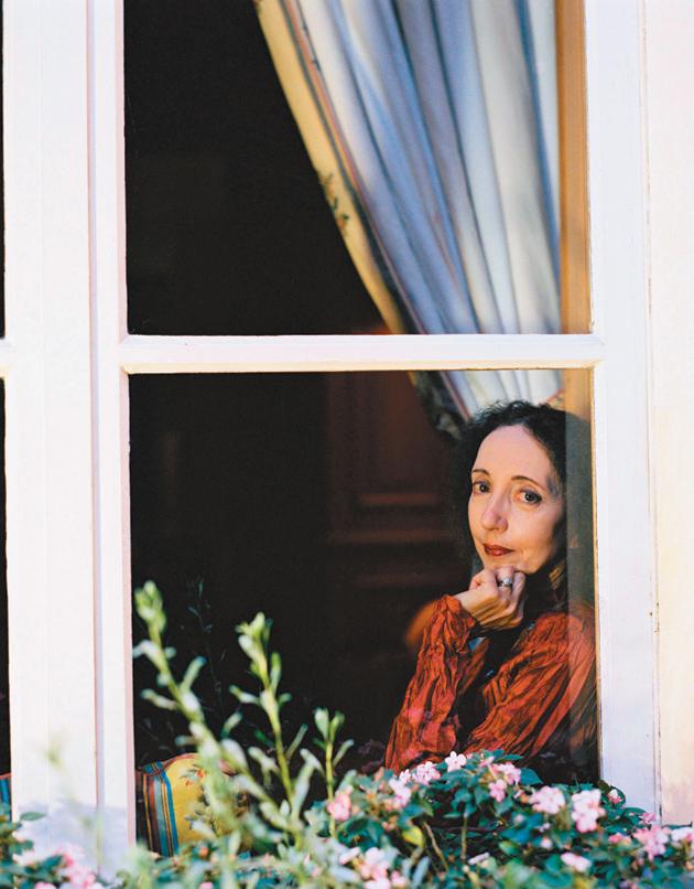 Joyce Carol Oates, Paris, 2008