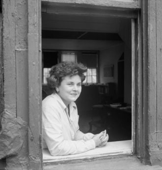 Elizabeth Bishop, 1940s; photograph © The Josef and Yaye Breitenbach Charitable Foundation, New York/Josef Breitenbach Archive, Center for Creative Photography, University of Arizona