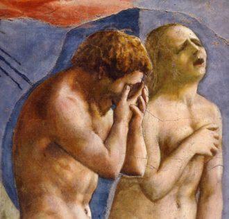 Masaccio: The Expulsion From the Garden of Eden, c. 1425 (detail)