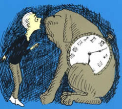 Milo and Tock, from <em>The Phantom Tollbooth</em>