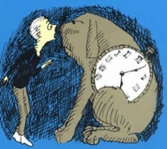Milo and Tock, from The Phantom Tollbooth