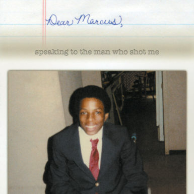 From the cover of Jerry McGill's self-published memoir, Dear Marcus: Speaking to the Man Who Shot Me