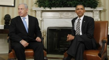 President Barack Obama meets with Prime Minister Benjamin Netanyahu of Israel in the Oval Office at the White House, Friday, May 20, 2011.