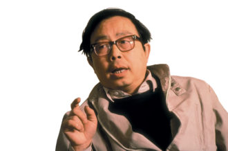 The Chinese astrophysicist Fang Lizhi at home in Beijing, shortly before taking refuge at the US embassy during and after the Tiananmen Square crackdown, 1989