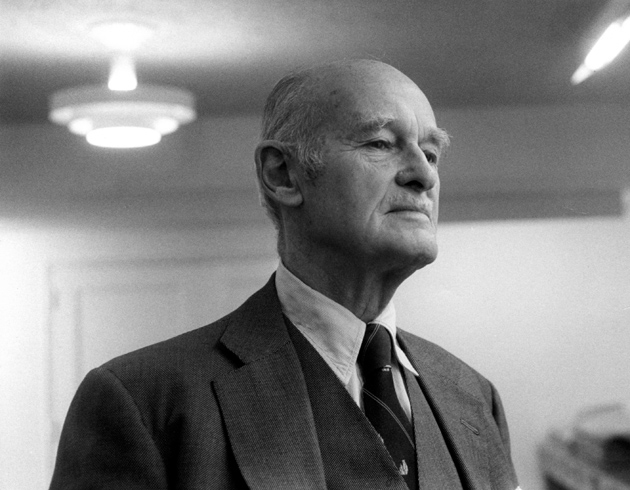 George Kennan at the American Academy of Arts and Letters, New York City, 1981