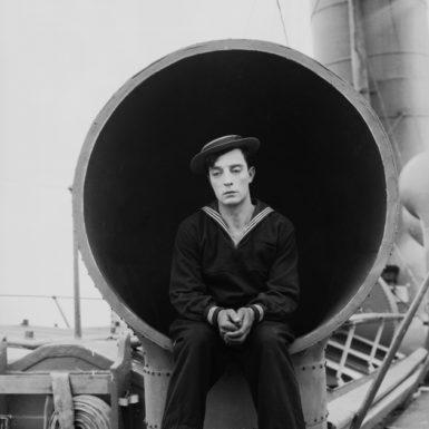 Buster Keaton as Rollo Treadway in The Navigator, 1924