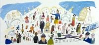 Maira Kalman: New York, Grand Central Station, 1999