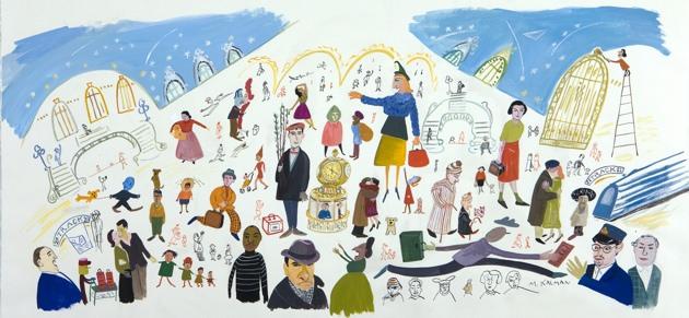 Maira Kalman: New York, Grand Central Station.jpg