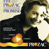 An advertisement for Prozac, from <i>The American Journal of Psychiatry</i>, 1995