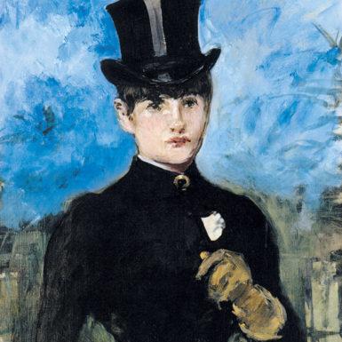 Édouard Manet: L'Amazone, circa 1882