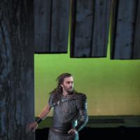 Jonas Kaufmann as Siegmund in Robert Lepage's production of Richard Wagner's Die Walküre