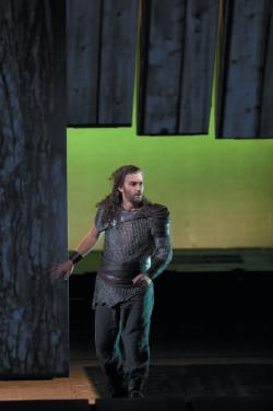 Jonas Kaufmann as Siegmund in Robert Lepage's production of Richard Wagner's <i>Die Walküre</i>