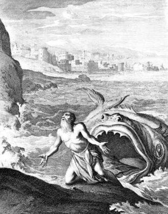 From Historiae celebriores Veteris Testamenti Iconibus representatae by Caspar Luiken, 1712