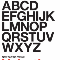 A poster for Helvetica