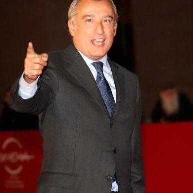 Piero Marrazzo at the Rome Film Festival, October 15, 2009