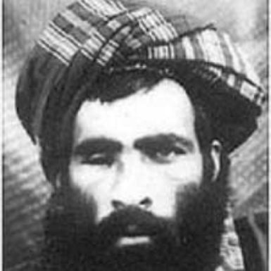 A photo believed to be of Mohammed Omar