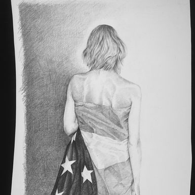 Michael Escoffery: Looking Ahead, 2001. Illustration (c) 2011 Michael Escoffery/Artists Rights Society (ARS), New York.