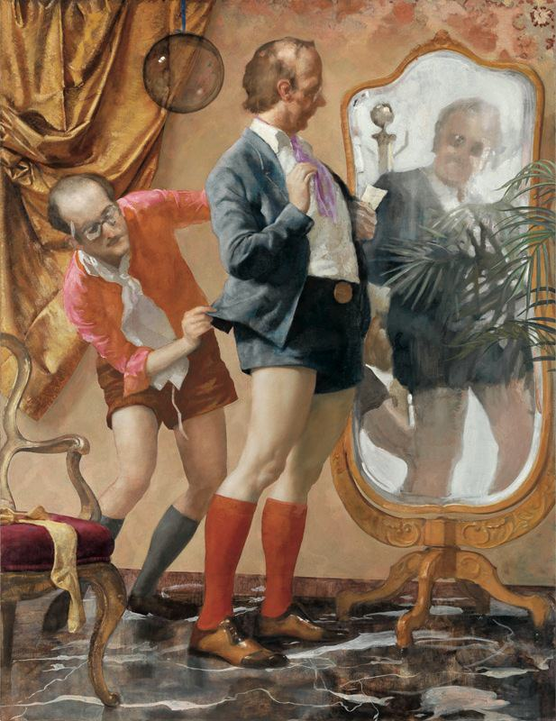 John Currin: Hot Pants.jpg