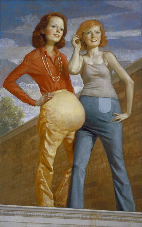 John Currin: Patch and Pearl.jpg