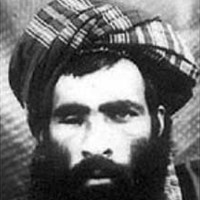 A photograph believed to be of Mullah Mohammed Omar