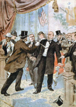 The assassination of William McKinley, from <i>Le Petit Journal</i>, Paris, September 22, 1901
