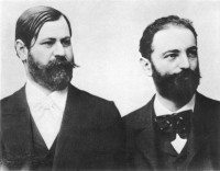 Sigmund Freud and Wilhelm Fliess, early 1890s