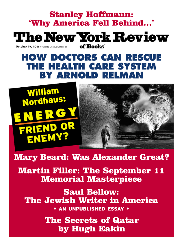 Image of the October 27, 2011 issue cover.