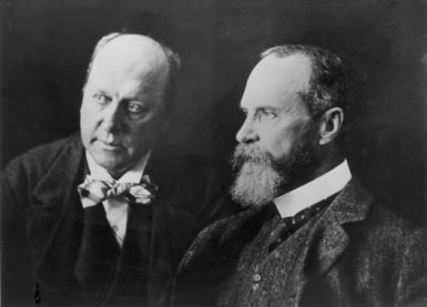 Henry James and his brother William, 1902