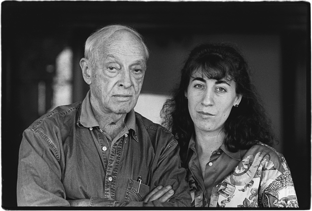 Saul Bellow and Janis Bellow, Boston, Massachusetts, 1994; photograph by Judith Aronson, whose portraits of writers and artists have been collected in her book Likenesses: With the Sitters Writing About One Another, published in 2010 by Lintott Press in association with Carcanet Press, UK