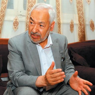 Rached Ghannouchi, leader of the Islamist Ennahda (Renaissance) party, Tunis, June 28, 2011