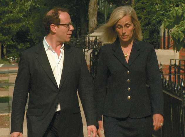 Joshua Rosner and Gretchen Morgenson, Washington, D.C., June 2011