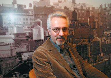 Alan Hollinghurst, New York City, December 2004