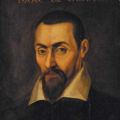 Portrait of Isaac Casaubon by an unknown artist, late sixteenth or seventeenth century