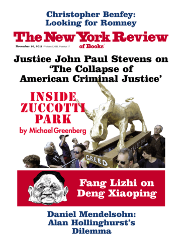 Image of the November 10, 2011 issue cover.