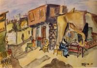 Inji Efflatoun: Title unknown, 1951