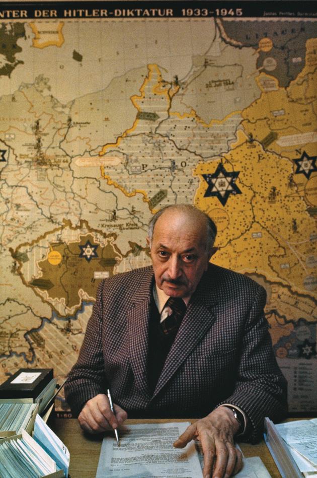 Simon Wiesenthal, Vienna, 1975