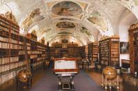 The library of the Strahov Monastery, Prague, Czech Republic