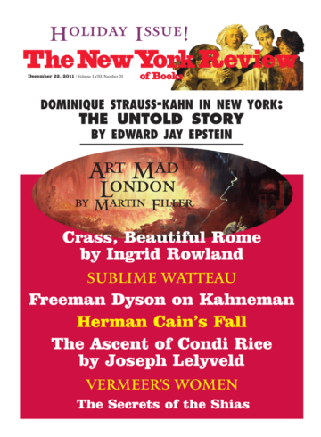 Image of the December 22, 2011 issue cover.