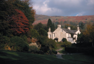Rydal Mount, former house of William Wordsworth, Cumbria, England