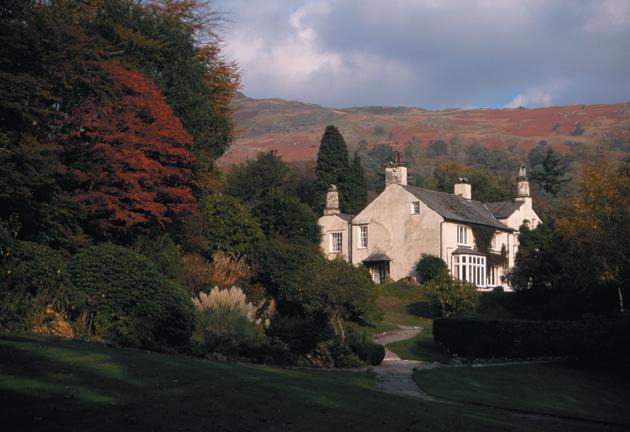 Rydal Mount, former house of William Wordsworth, Cumbria, England